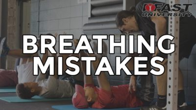 Breathing Mistakes