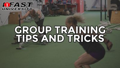 Group Training Tips and Tricks