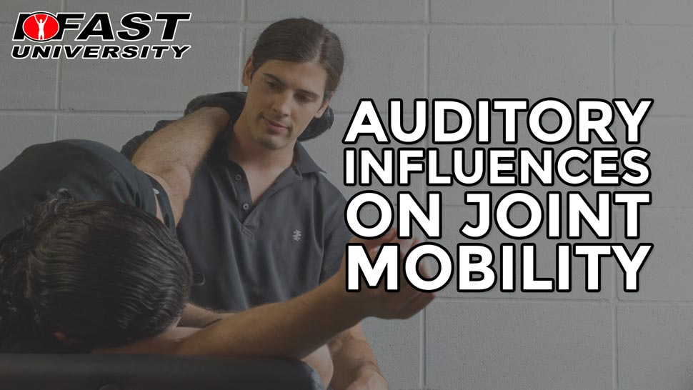 Auditory Influences on Joint Mobility