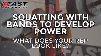 Squatting with Bands to Develop Power