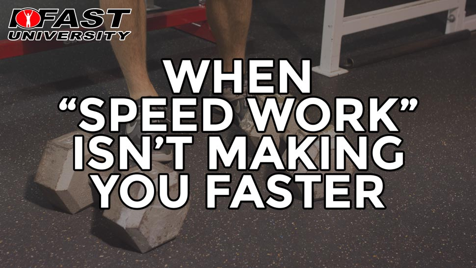 "When ""Speed Work"" Isn't Making Your Faster: How proper rest periods avoid this mistake and help your clients progress"