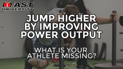 Jump Higher by Improving Power Output: What is your athlete missing?