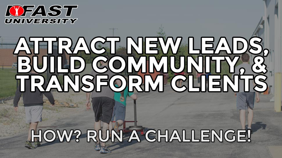 Attract New Leads, Build Community, and Transform Clients: How? Run a challenge!