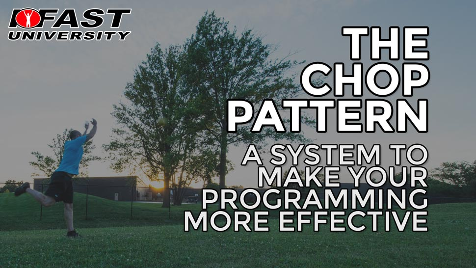 The Chop Pattern: A system to make your programming more effective