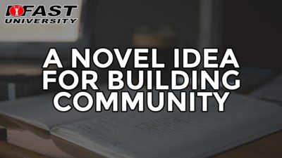 A Novel Idea for Building Community