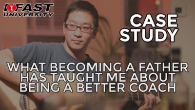 Case Study: What becoming a father has taught me about being a better coach