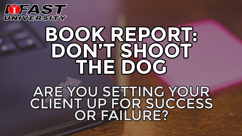 Book Report: Don't Shoot the Dog