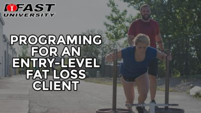 Programming for an Entry-Level Fat Loss Client