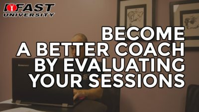Become a Better Coach by Evaluating Your Sessions