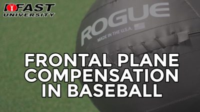 Frontal Plane Compensation in Baseball