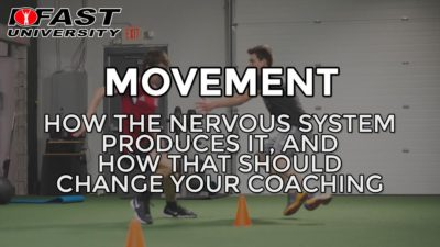 Movement: How the nervous system produces it, and how that should change your coaching