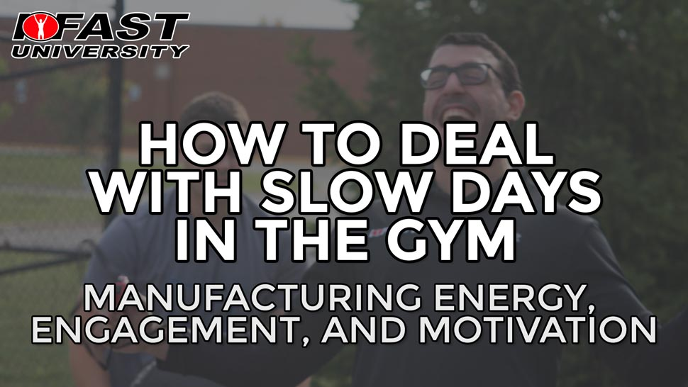How to Deal with Slow Days in the Gym