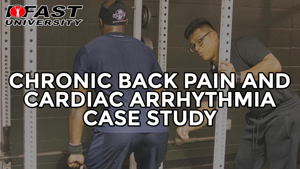 Chronic Back Pain and Cardiac Arrhythmia Case Study