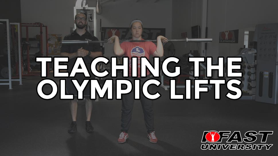 Teaching the Olympic Lifts - a three part series