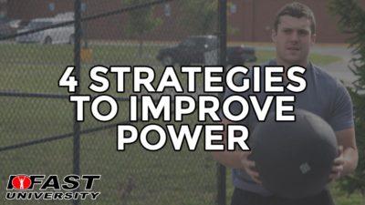 4 Strategies to Improve Power