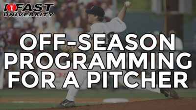 Off-season Programming for a Pitcher