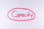 Capacity slide