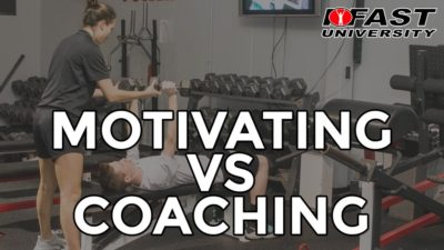 Motivating vs. Coaching