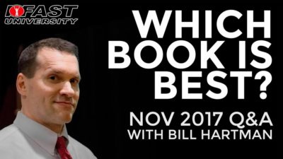 Which Book Is Best? November 2017 Q&A with Bill Hartman