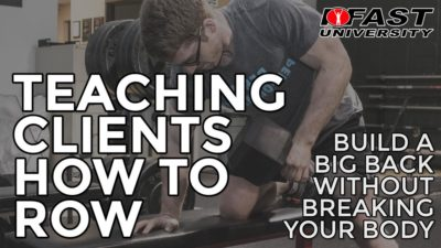 Teaching Clients How to Row: Build a big back without breaking your body