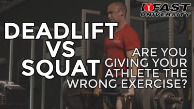 Deadlift vs. Squat - Are you giving your athlete the wrong exercise?