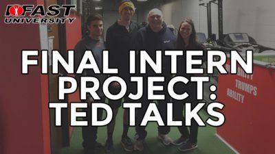 Final Intern Project: TED Talks