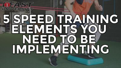5 Speed Training Elements You Need to be Implementing: Takeaways from Lee Taft's Speed Retreat