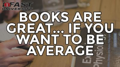 Books Are Great... If You Want to be Average: Reading Research Quickly and Effectively, Plus Landing Mechanics for Rehab