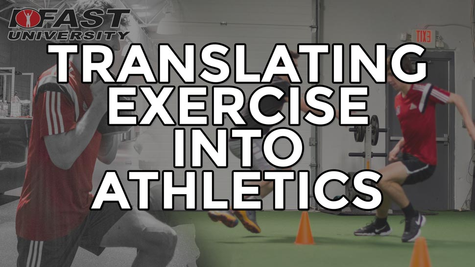 Translating Exercise Into Athletics