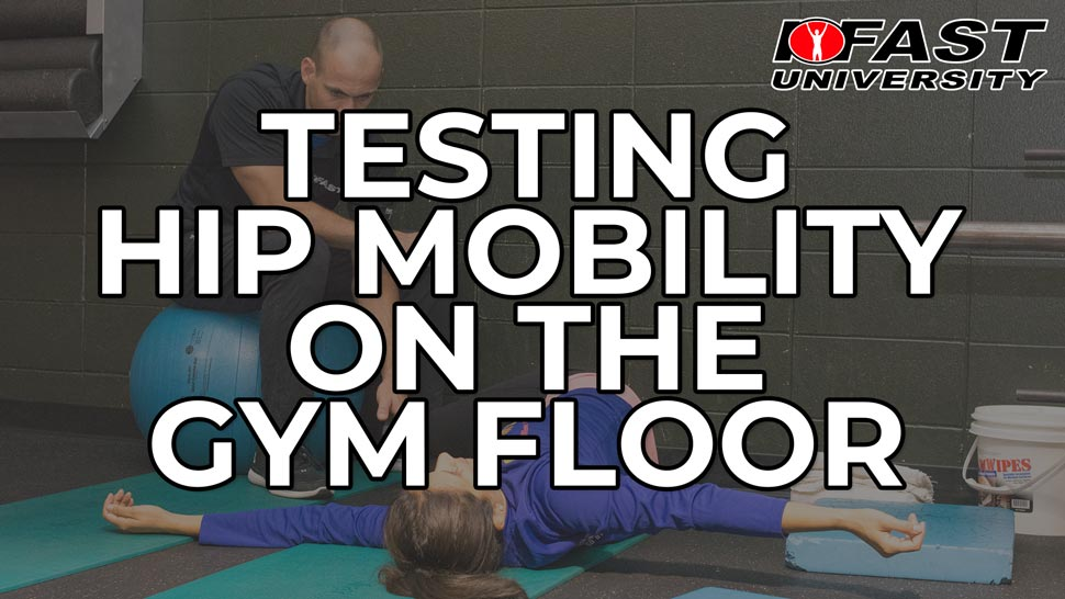 Testing Hip Mobility on the Gym Floor