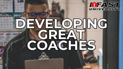Developing Great Coaches - February 2019 Q&A with Mike Robertson