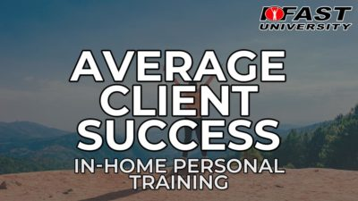 Average Client Success with In-Home Training