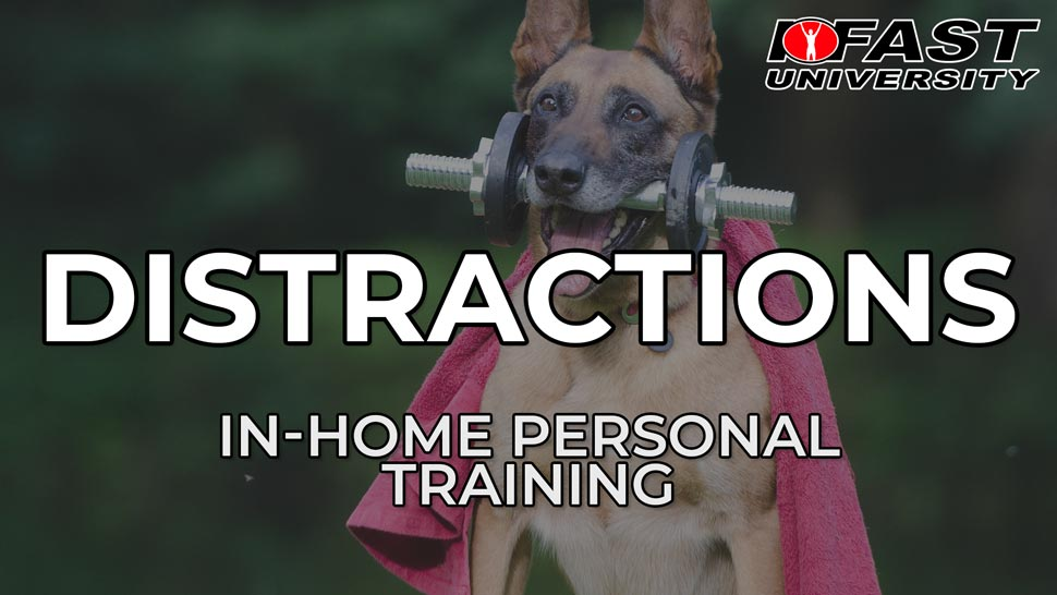 Handling Distractions During In-Home Sessions