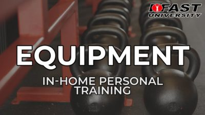 Equipment for In-Home Personal Training