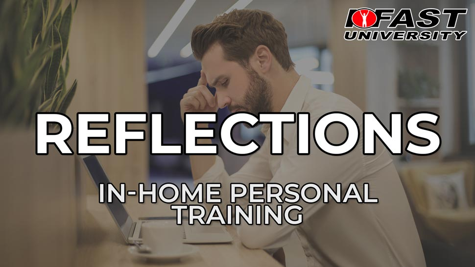 Reflections on In-Home Training in the Past