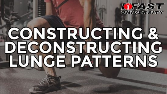 Constructing and Deconstructing the Lunge Patterns