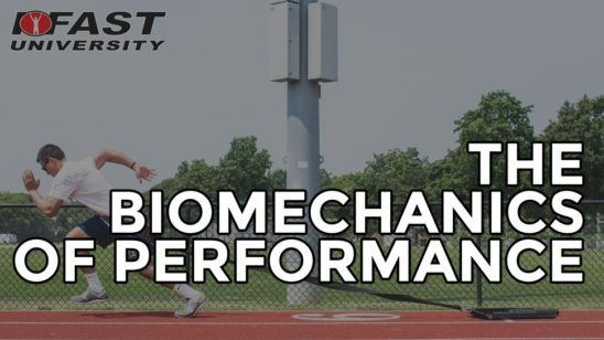 The Biomechanics of Performance