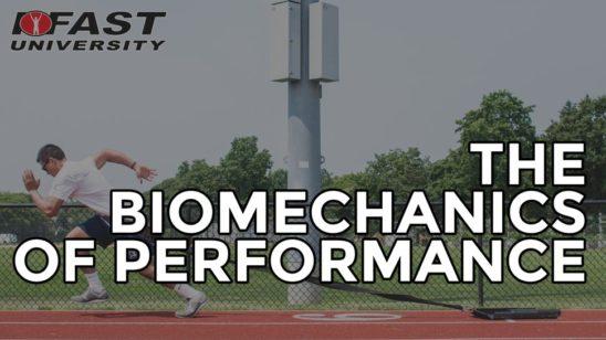 The Biomechanics of Performance
