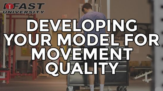 Developing Your Model for Movement Quality